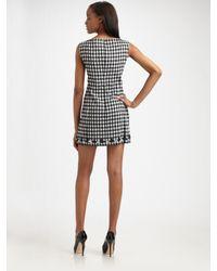 Nanette Lepore | Black Sleeveless Front Keyhole Sly Girl Shift Dress | Lyst