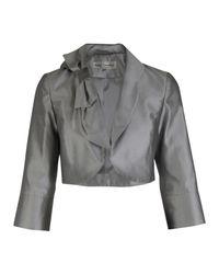 Paddy Campbell | Metallic Silk Bow Bolero | Lyst