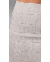 Pleasure Doing Business - Natural 7 Band Miniskirt - Lyst