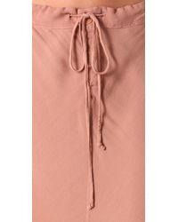 Textile Elizabeth and James | Pink Riley Skirt | Lyst