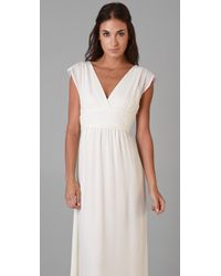 Thread Social | White Marilyn Gown | Lyst