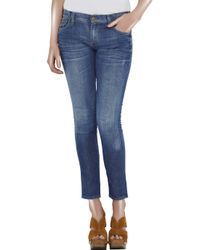 Citizens of Humanity - Blue Phantom Jean with Zipper - Lyst