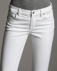 Citizens of Humanity - White Thompson Santorini High-rise Skinny Jeans - Lyst