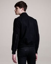 Givenchy - Black Varsity Jacket for Men - Lyst