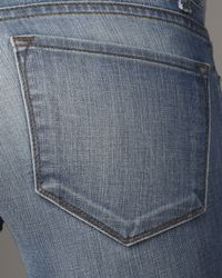 J Brand - Blue Skinny Santorini Ankle Jeans - Lyst