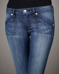 Rock & Republic - Blue Edie Utility Flare Elevate Jeans - Lyst