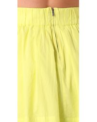 Club Monaco | Yellow Kolina Skirt | Lyst