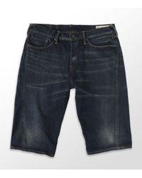 Evisu | Blue Denim Short for Men | Lyst