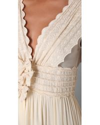 Beyond Vintage | White Intricate Emb Wedding Dress | Lyst