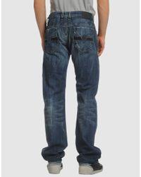 "DIESEL - Blue Thavar 0831Q Skinny-Fit Tapered Jeans L30"" - For Men for Men - Lyst"