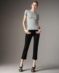 Joe's Jeans | Kicker Cropped Jeans, Black | Lyst