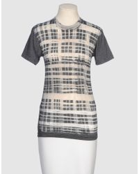 Libertine - Gray Short Sleeve T-shirt - Lyst