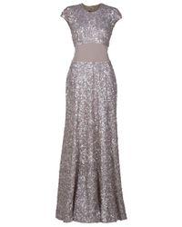 Eastland | Metallic Panel Waist Gown | Lyst