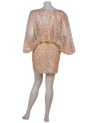 Eastland - Metallic Square Sequin Dress - Lyst