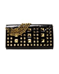 Eastland | Black Studded Python Bag | Lyst