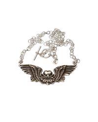 Femme Metale Jewelry   Metallic Lotus Rising Necklace   Lyst