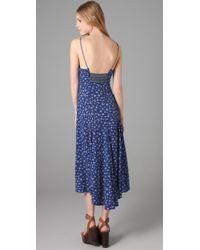Free People - Blue New Romantics Lolita Maxi Dress - Lyst
