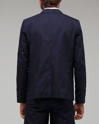 A.P.C. | Blue Classic Blazer for Men | Lyst