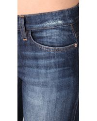 Joe's Jeans - Blue Ankle Cigarette Jeans - Lyst