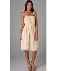Rebecca Taylor   Natural Bohemian Cami Dress   Lyst
