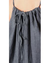 Pray For Mother Nature - Blue Chambray Maxi Dress - Lyst