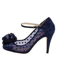 kate spade new york | Blue Didi Mary Jane Pump | Lyst