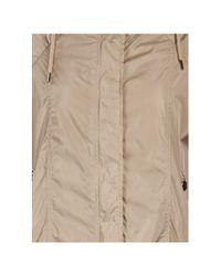 Moncler Natural Hooded Cape Jacket