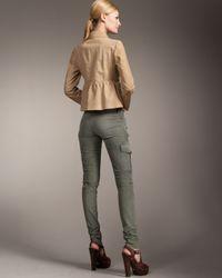 Prada | Green Skinny Cargo Pants | Lyst