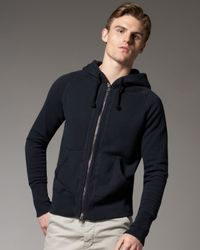 Tim Hamilton | Blue Raglan-sleeve Hoodie, Navy for Men | Lyst