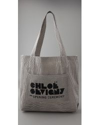 Opening Ceremony - Gray Large Tote - Lyst