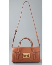 Marc By Marc Jacobs | Brown Bianca Satchel | Lyst