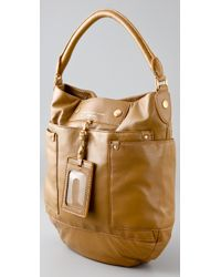Marc By Marc Jacobs | Brown Preppy Leather Hillier Hobo | Lyst