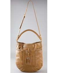 Marc By Marc Jacobs - Brown Preppy Leather Hillier Hobo - Lyst