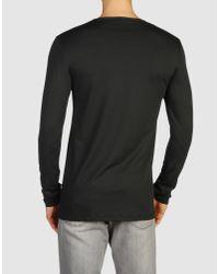 Prada - Black Long Sleeve T-shirt for Men - Lyst