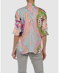 Roberto Cavalli | Multicolor Shirt | Lyst