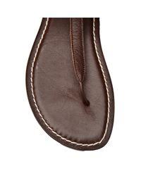 Bernardo Brown Lace Up Sandal