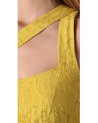 Nanette Lepore - Yellow Marilyn Dress - Lyst