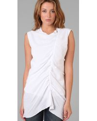 Jarbo | White Pleated Tunic | Lyst