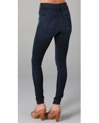Citizens of Humanity Blue Rocket High Rise Skinny