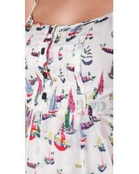 MILLY | Multicolor Sailboats Lily Sundress | Lyst