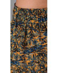 MINKPINK Multicolor Mozambique Maxi Skirt