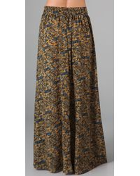 MINKPINK - Multicolor Mozambique Maxi Skirt - Lyst