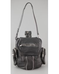 Alexander Wang | Gray Marti Backpack / Shoulder Bag | Lyst