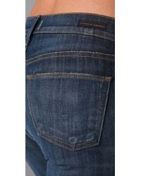 Citizens of Humanity - Blue Amber Mid Rise Boot Cut Jeans - Lyst