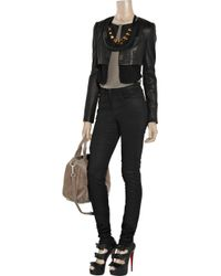 Notify Black Bamboo High-rise Skinny Jeans