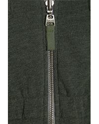 Splendid - Green Vintage Sherpa Jersey Parka Top - Lyst