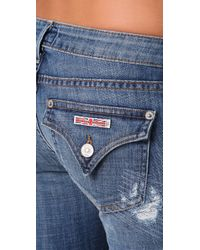 Hudson Jeans Blue Ferris Flare Jeans