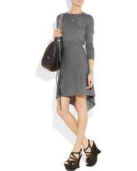 3.1 Phillip Lim | Gray Long Sleeve Knit Dress | Lyst