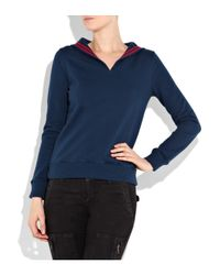 A.P.C. | Blue Sailor Sweatshirt | Lyst