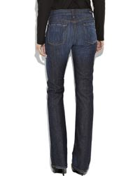 Citizens of Humanity Blue Amber Mid-rise Bootcut Jeans